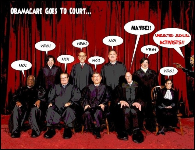 Obamacare Goes To Court