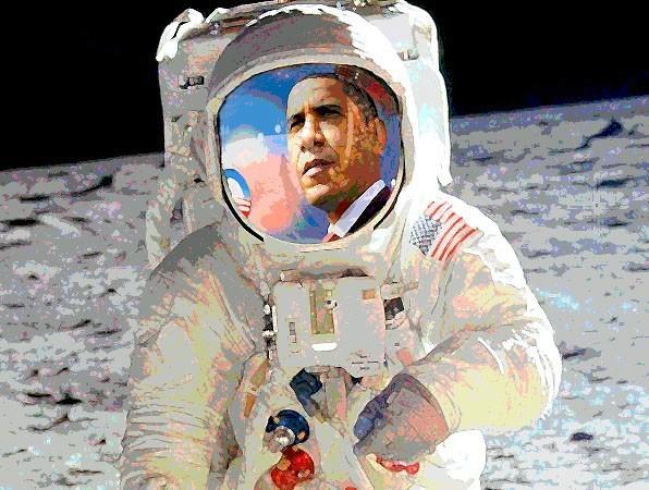 Mooning Obama
