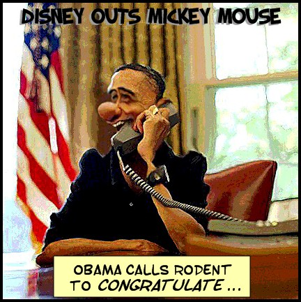Disney Outs Mickey