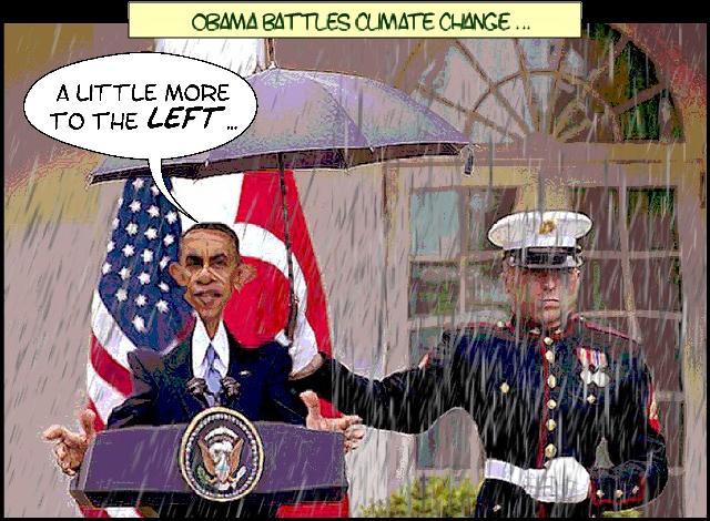 Obama Battles Climate Change