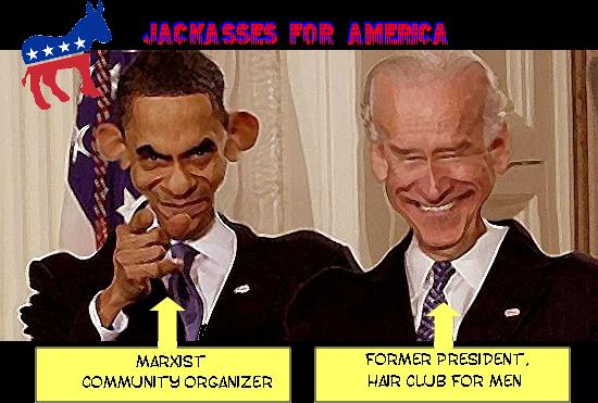 Jackasses For America