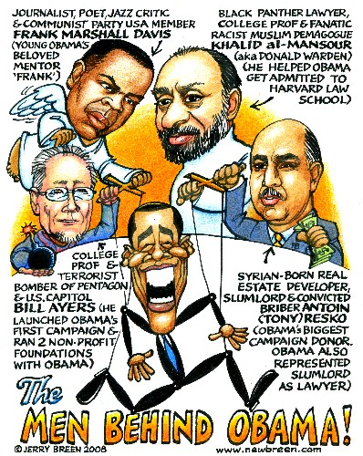 Men Behind Obama