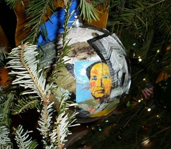 Obama Christmas Decoration