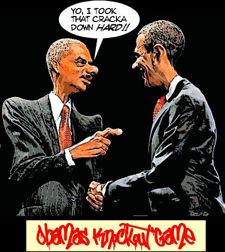 Obamas Knockout Game