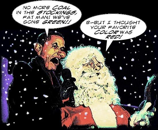A Very Obama Christmas
