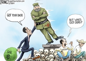 Cuba - Branco cartoon