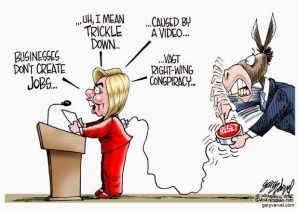 Hillary reset button cartoon