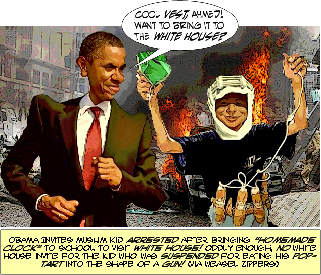 Ahmed Takes A Lickin' And Keeps On Tickin' | Be Sure You ...  Obama